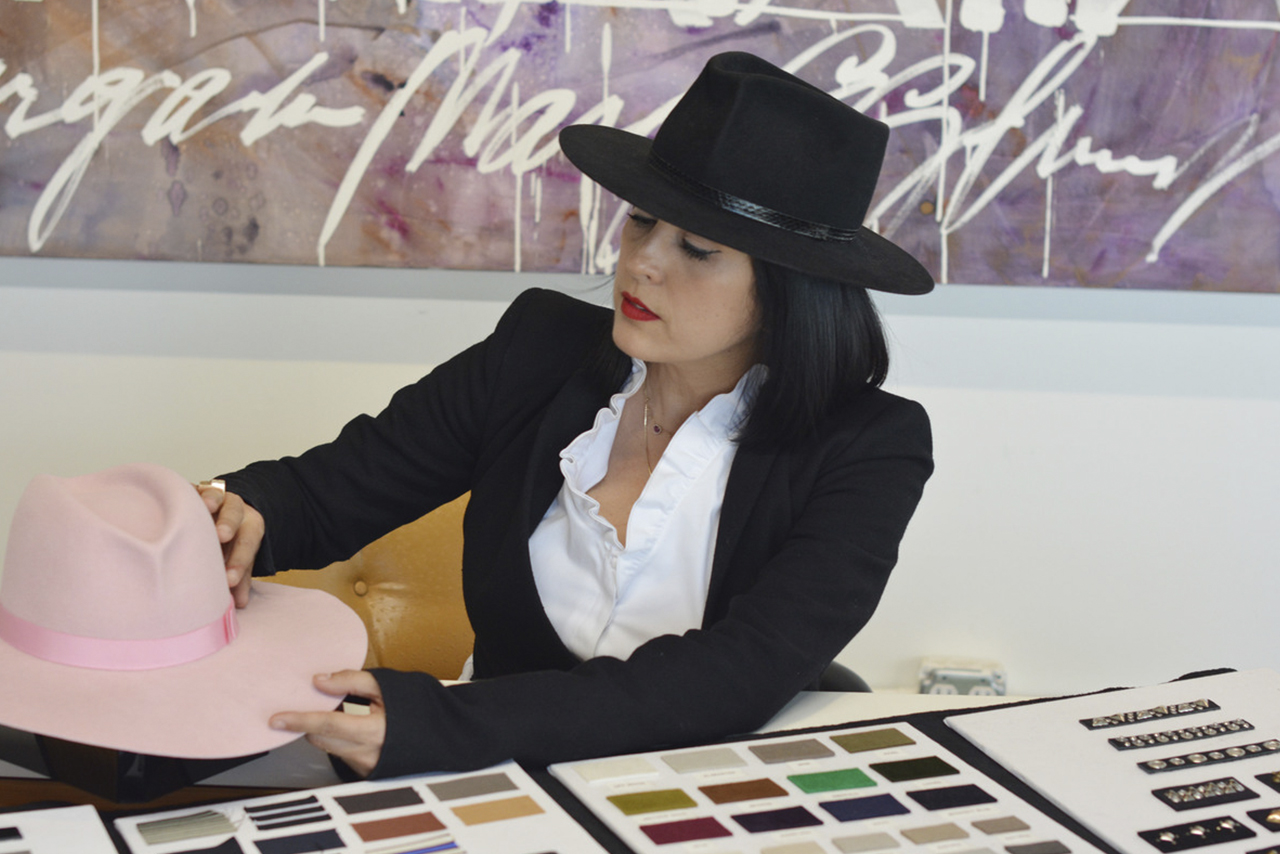 8e4f0cb452d Mô  What s next for Gladys  GT  Expand my accessory line. My first piece is  already on the market which is the suitcase of hats